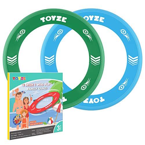 Toyze Spielzeug ab 3-12 Jahre Jungen, Flying Ring Kinder Geschenke für Mädchen ab 3-12 Jahre Geburtstagsgeschenk für Kinder Geschenke Jungen 3-12 Jahre Outdoor Spielzeug ab 3-12 Jahre
