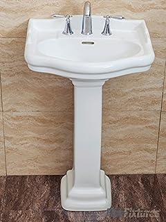 Wondrous Amazon Com Biscuit Bathroom Sinks Bathroom Fixtures Download Free Architecture Designs Embacsunscenecom
