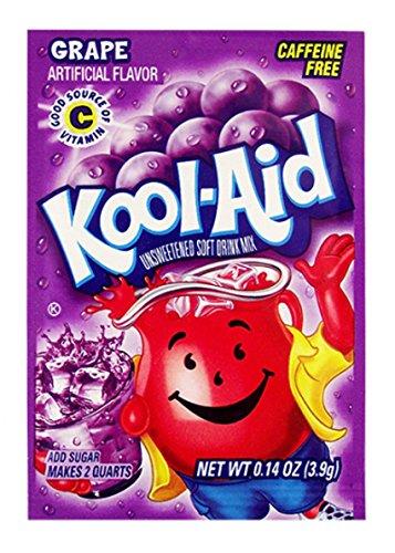 Kool Aid - Frullati all'uva, 3,9 g, 48 pezzi