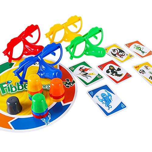 Family Interactive Fun Fibber Board Game,Interesting Family Interactive Toys for Home Quarantine
