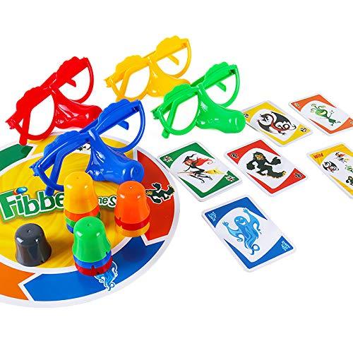 Spielzeug Lernspielzeug Kinderspielzeug EIN Lernspielzeug für EIN Brettspiel mit Brille und Langer Nase, um den Lügner zu bestrafen Geeignet für Kinder über DREI Jahre Brettspiel Puzzle Geschenke