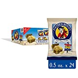 Pirate's Booty Cheese Puffs, Healthy Kids Snacks, Real Aged White Cheddar, .5oz Individual Snack Sized Bags (Pack of 24)