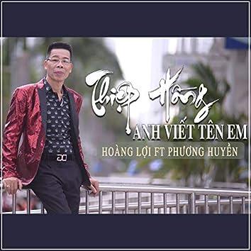 Thiep Hong Anh Viet Ten Em