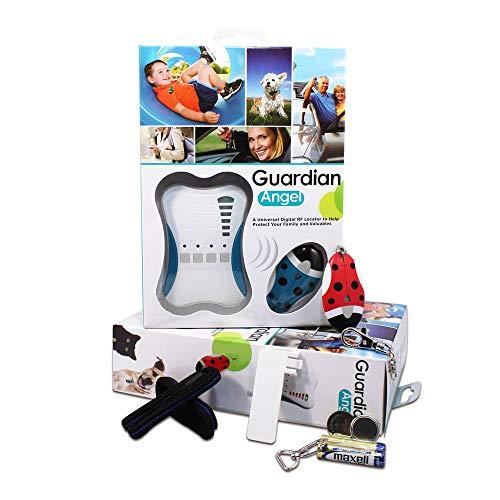 Girafus® Guardian Angel für 1 Kind Kinderfinder, Haustierfinder, Allesfinder mit Alarm Diebstahlschutz