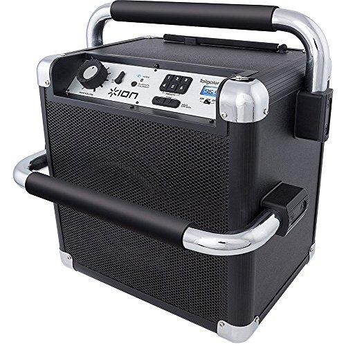 ION Audio Job Rocker Plus Bluetooth Speaker - Black (Certified Refurnished)