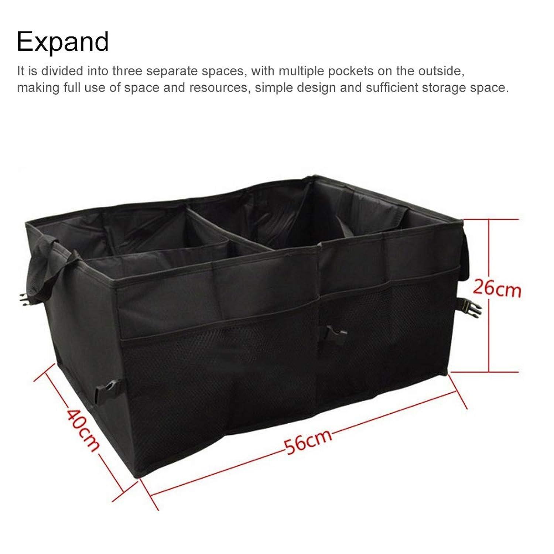 車用ボックス 折り畳み式 大容量 ボックス( キャンプ/アウトドア/お買い物)約40L