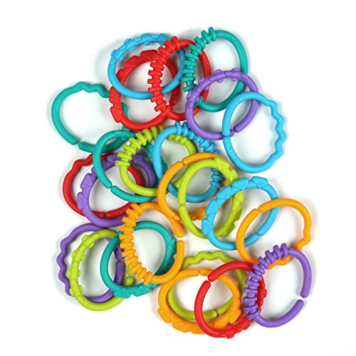 Bright Starts 8664 Anelli Multicolore Fun Links