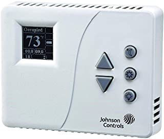 Pneumatic Two-Pipe Thermostat, LCD