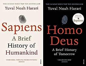 BY [Yuval Noah Harari] A Brief History of Humankind Sapiens & Homo Deus: A Brief History of Tomorrow[Paperback]