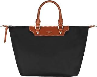 David Jones - Sac à Main Cabas Nylon Femme - Fourre-Tout Sac Shopping Souple Grande Capacité - Shopper Tote Porté Epaule B...