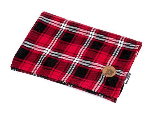 Petface - Manta para Perro, diseño de Cuadros de tartán, Color Rojo