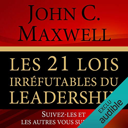 Les 21 lois irréfutables du leadership cover art