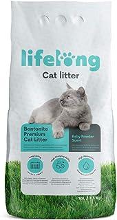 Amazon-merk: Lifelong Bentonite klonterende baby poeder geur kattenbakvulling 10 l