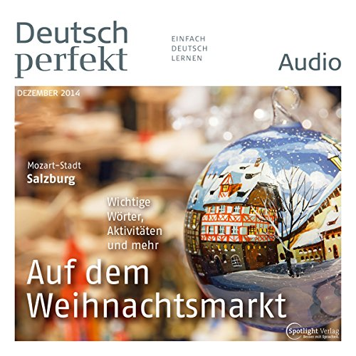 Deutsch perfekt Audio. 12/2014 Titelbild