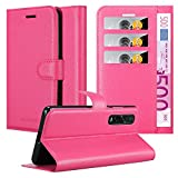 Cadorabo Book Case works with Oppo Find X2 pro in HOT PINK
