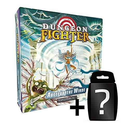 Dungeon Fighter - Abgefahrene Winde - Erweiterung Brettspiel | DEUTSCH | Set inkl. Kartenspiel