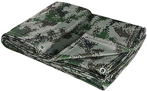 Heavy Duty Tarps, Large Coverings For Outdoor Trailers, Tarp Awning Tents, Boats, Motorhomes Or Swimming Pool Covers (Size : 6x8m)