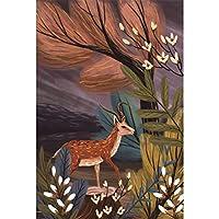 パズル 1000ピース大人,動物の花鹿シリーズ木製パズル,非常に難しくて面白いゲームおもちゃ,装飾的な壁画子供向けのクリエイティブギフト,003