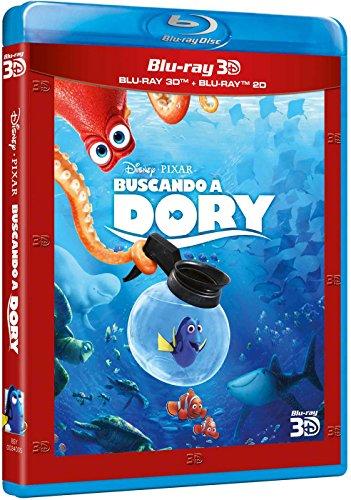 Buscando A Dory (Blu-ray 3D + Blu-ray) [Blu-ray]