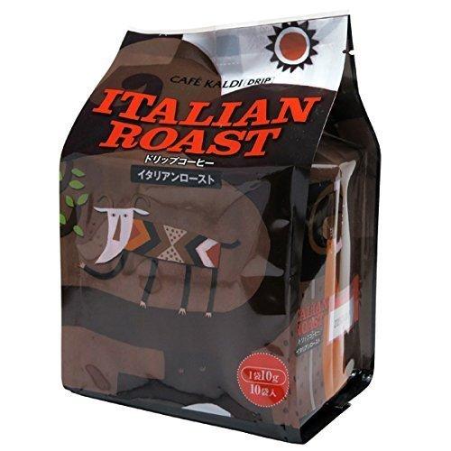 カフェカルディ ドリップコーヒー イタリアンロースト 10g×10p