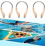CathEU Clip per Naso da Nuoto, Maschere nasali, Clip per Naso da Competizione, Clip da Nuoto Impermeabili in Gomma, Protezione per Il Naso, Sport, Nuoto, Immersioni (Color)