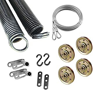 Garage Door Extension Spring for 7' High Door, 100 Pounds 25 42 100 Coded small tan ( Pair )
