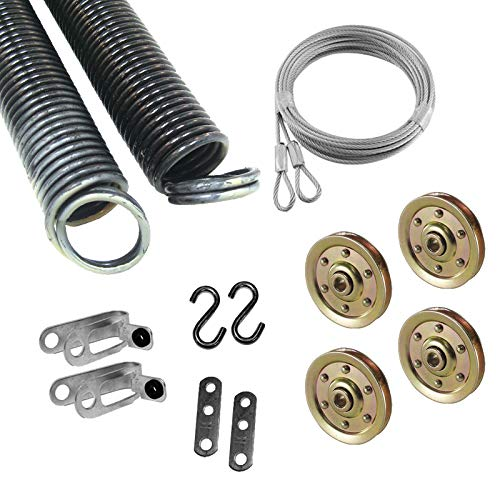 Best Price Garage Door Extension Spring for 7' High Door, 100 Pounds 25 42 100 Coded small tan ( Pai...