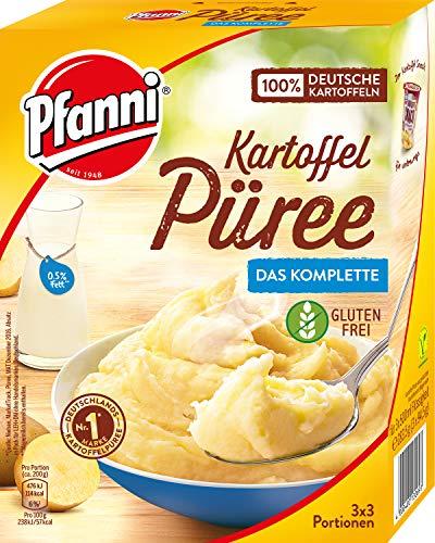 Pfanni Kartoffelpüree mit entrahmter Milch,7er Pack á 3x3 Portionen (7 x 1500ml)