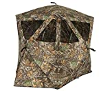 Ameristep Caretaker Kick Out Pop-Up Ground Blind, Premium Hunting Blind, Realtree Edge Camo, One Size