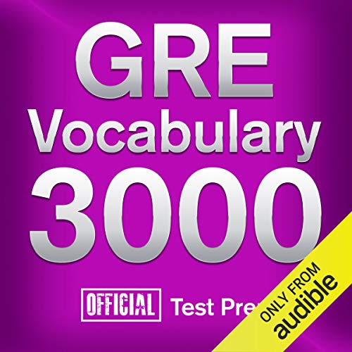 Couverture de GRE Vocabulary 3000: Official Test Prep
