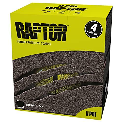 RAPTOR 0820 U-Pol Products Black Truck Bed Liner Kit - 1 Gallon kit