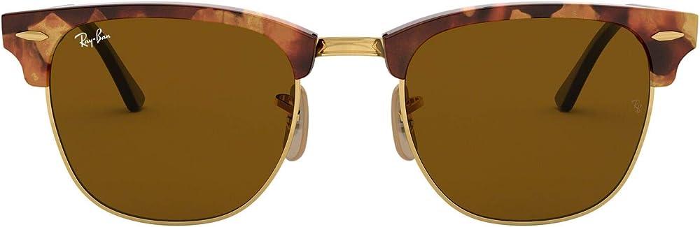 Ray-ban  clubmaster, occhiali da sole da donna 0RB3016