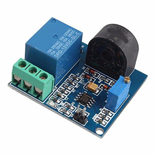 AC-Strom Sensor Modul 12 V-Relais Schutz Modul 5 EIN Überstromschutz Schaltausgang