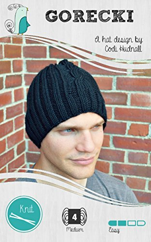 GORECKI - Knitted Hat Pattern (Stags!: The Man Hat Collection Book 1)