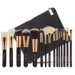 Ofertas Tienda de maquillaje: [Ajuste para cada cara] Los pinceles de maquillaje de ojos vienen en varias formas y tamaños, por lo que se ajustan a los contornos y reflejos de cada contorno facial. [Mejor calidad] El juego de brochas de maquillaje mostrará tu belleza natural y de...