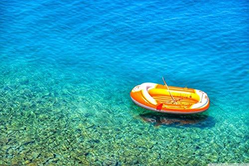 TTbaoz Papierspiel Puzzle Puzzle 1000 Schlauchboot in Kroatien (70*50cm)