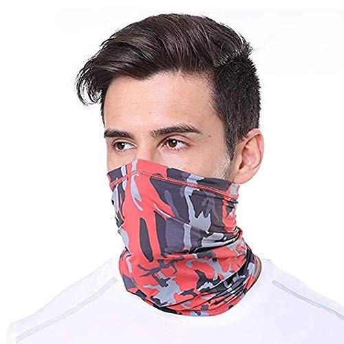 CRYX Motorfiets Unisex halsdoek multifunctionele doek bedrukte halsverwarmer bandana heren slangensjaal elastisch zomer dames voor motorfiets wandelen lopen sjaal Face Shield