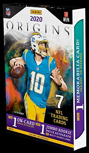 2020 Panini Origins NFL Football HOBBY box (7 cards)