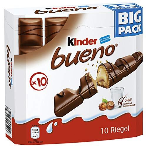 Ferrero - kinder bueno Big Pack 10 Barres 215g