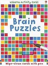 Brain Puzzles (Usborne Activity Cards)