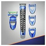 Gillette Fusion Styler, Tondeuse 3-En-1 : Tondeuse, Rasoir Et Sculpteuse, Waterproof, 3 sabots inclus (2, 4 et 6mm)