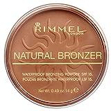 Rimmel - Poudre Bronzante Natural Bronzer - Waterproof et Spf 15 - Longue Tenue - 022 Sun Bronze - 14gr