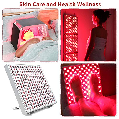 Find Bargain LXT PANDA 45W Red Light Therapy Device with Pulse Function, Foldable and Splicable 660n...