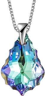 Sterling Silver Austrian Crystal Bracelet Necklace...