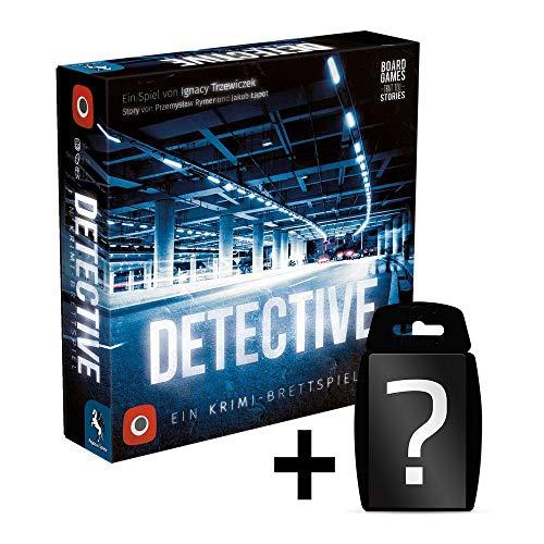 Detective - Grundspiel - Brettspiel | DEUTSCH | Set inkl. Kartenspiel