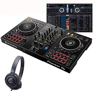 Pioneer DJ パイオニアディージェイ DDJ-400 ATH-S100BK 初心者ヘッドホンセット