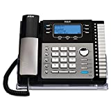 Best RCA Answering Machines - RCA ViSYS 25425RE1 Four-Line Expandable Speakerphone with Integrated Review