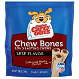Canine Carry Outs Chew Bones Beef Flavor Long Lasting Dog Snacks - Small, 12 Pack