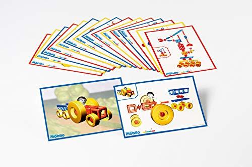 Plasticant Mobilo Instrucciones de construcción, 16 Piezas, Juguete de construcción Creativo Fabricado en Alemania, Construir, Jugar y Aprender para niños de 3 a 8 años.