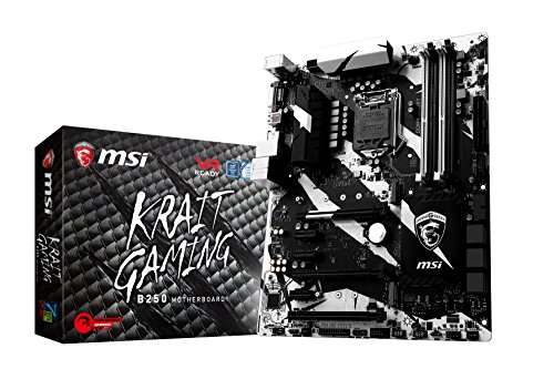 MSI Gaming Intel B250 LGA 1151 DDR4 HDMI VR Ready ATX Motherboard (B250 Krait Gaming)